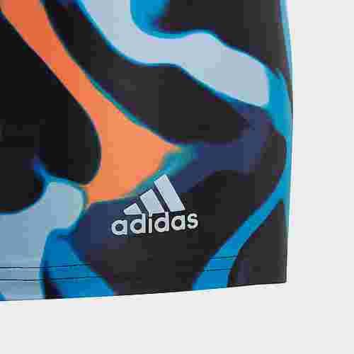 adidas Primeblue Boxer-Badehose Badehose Kinder Mehrfarbig