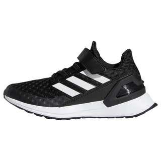 adidas RapidaRun Schuh Laufschuhe Kinder Core Black / Cloud White / Cloud White