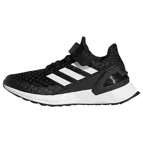 adidas RapidaRun Schuh Laufschuhe Kinder Core Black / Cloud White / Cloud White