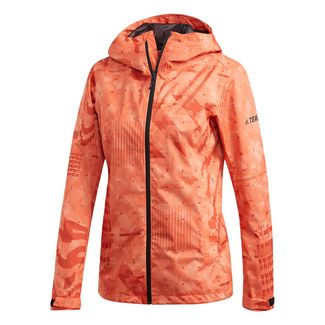 adidas Funktionsjacke Damen Orange
