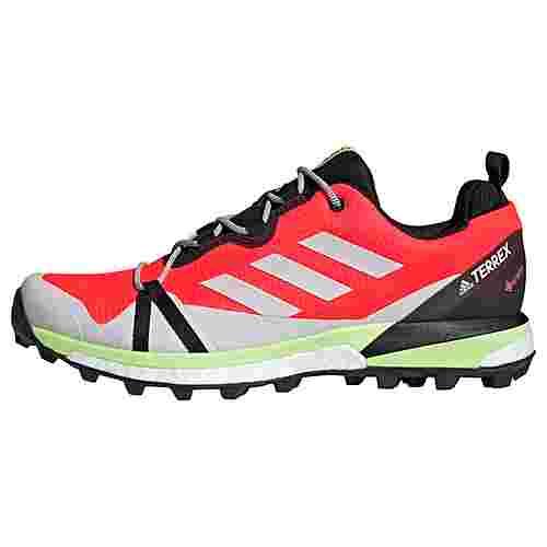 adidas GTX® TERREX Skychaser LT GTX Schuh Wanderschuhe Herren Solar Red / Dash Grey / Signal Green