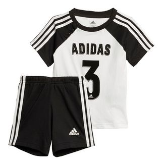 adidas Trainingsanzug Kinder White / Black