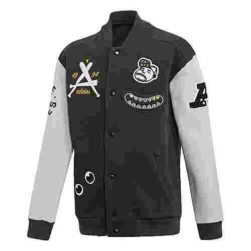 adidas Collegiate Originals Jacke Sweatjacke Kinder Black / Grey Two