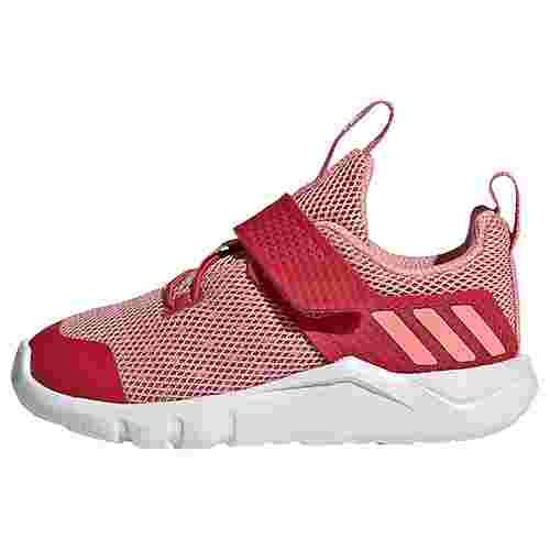 adidas RapidaFlex Schuh Laufschuhe Kinder Glory Red / Glow Pink / Cloud White
