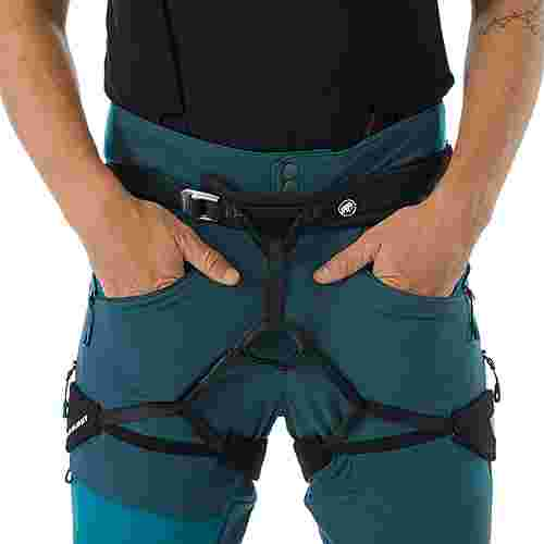 Mammut Base Jump SO Touring Pants Men Softshellhose Herren wing teal-sapphire