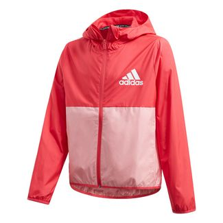 adidas Must Haves Windbreaker Outdoorjacke Kinder Core Pink / Glory Pink / White