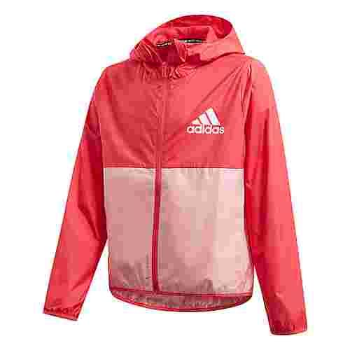 adidas Must Haves Windbreaker Outdoorjacke Kinder Core Pink / Glow Pink / White