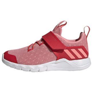 adidas RapidaFlex Schuh Laufschuhe Kinder Glory Red / Glory Pink / Cloud White