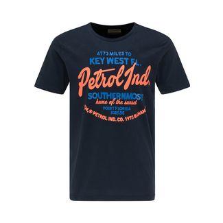 Petrol Industries Printshirt Herren Deep Navy