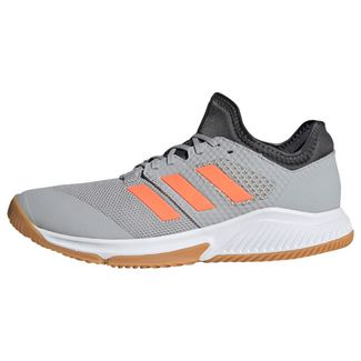 adidas Court Team Bounce Schuh Volleyballschuhe Herren Grey Two / Signal Coral / Grey Six
