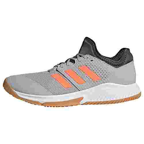 adidas Court Team Bounce Schuh Fitnessschuhe Herren Grey Two / Signal Coral / Grey Six