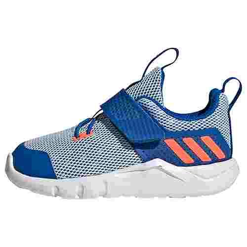 adidas RapidaFlex Schuh Laufschuhe Kinder Glow Blue / Signal Coral / Sky Tint