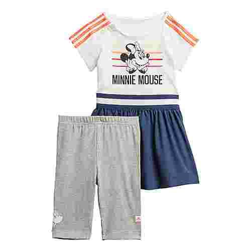 adidas Minnie Maus Sommer-Set Trainingsanzug Kinder White / Semi Coral / Tech Indigo