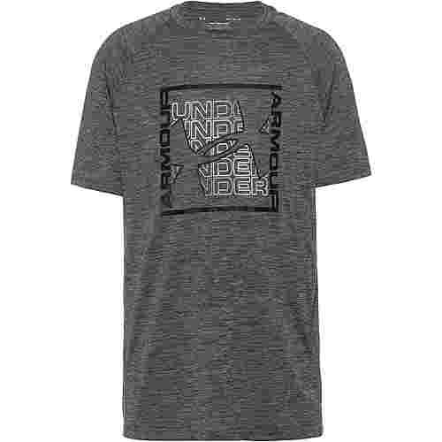 Under Armour Tech Graphic T-Shirt Herren gray