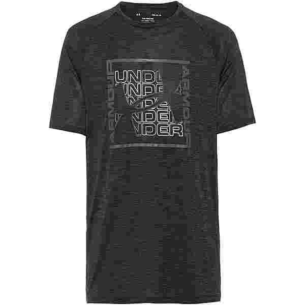 Under Armour Tech Graphic T-Shirt Herren black