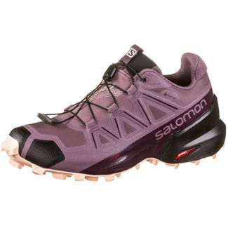 Salomon Speedcross 5 GTX Trailrunning Schuhe Damen flint-black-bellini