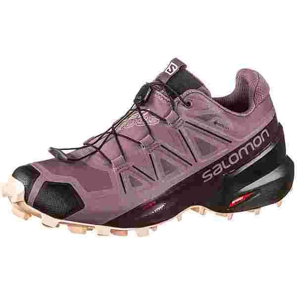 Salomon GTX Speedcross 5 Trailrunning Schuhe Damen flint-black-bellini