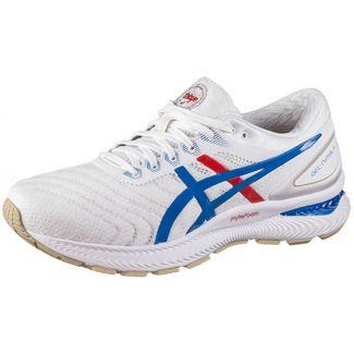 ASICS Gell Nimbus 22 Laufschuhe Herren white-electric blue