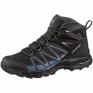 Salomon Robson Wanderschuhe Herren black phantom indian teal