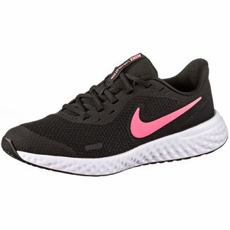 Nike Revolution 5 Fitnessschuhe Kinder black-sunset pulse