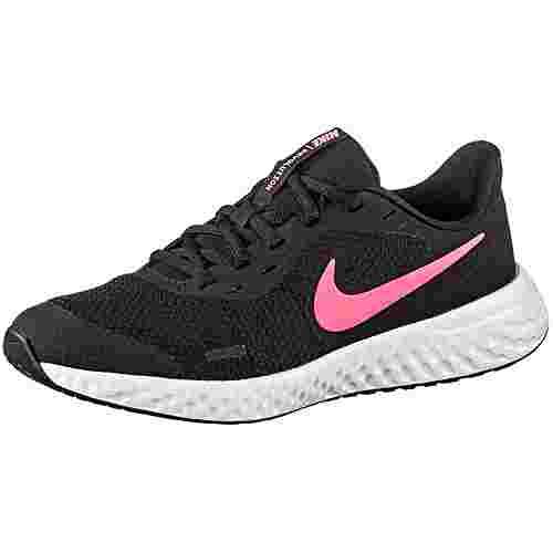 Nike Revolution 5 Laufschuhe Kinder black-sunset pulse