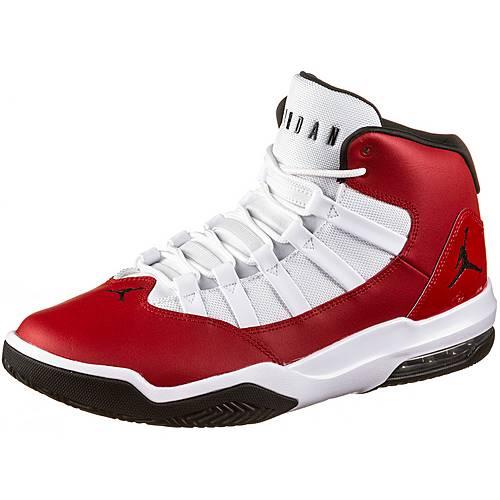 Nike Jordan Max Aura Basketballschuhe Herren gym red black white im Online Shop von SportScheck kaufen