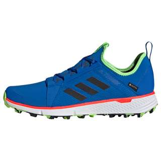 adidas GTX® TERREX Speed GORE-TEX Trailrunning-Schuh Trailrunning Schuhe Herren Glow Blue / Core Black / Signal Green