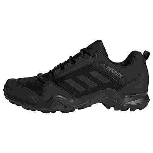 adidas TERREX AX3 Wanderschuh Wanderschuhe Herren Core Black / Core Black / Grey Five