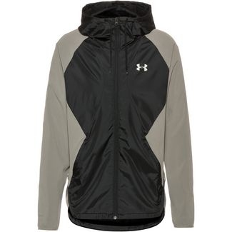 Under Armour Stretch Woven Trainingsjacke Herren gravity green