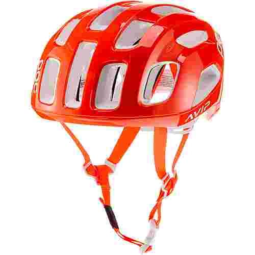 POC Ventral AIR SPIN Fahrradhelm zink orange avip