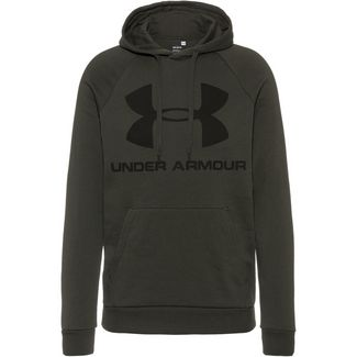 Under Armour Rival Hoodie Herren green