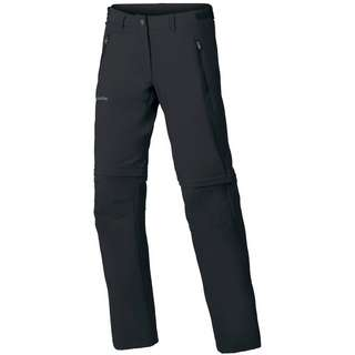 VAUDE Farley Stretch ZO T-Zip Zipphose Damen black