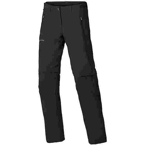 VAUDE Farley Stretch ZO T-Zip Zipphose Damen black