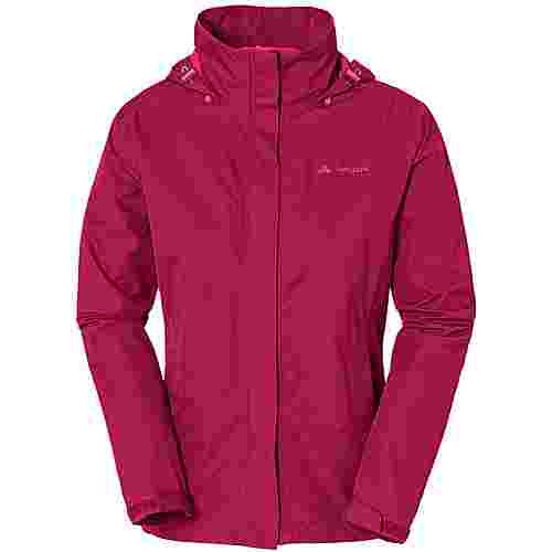 VAUDE Escape Light Regenjacke Damen crimson red