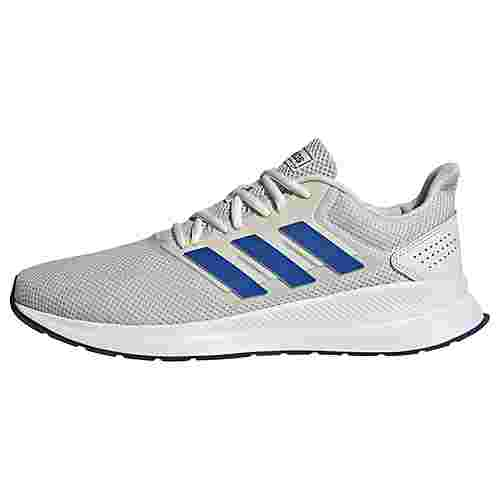adidas Runfalcon Schuh Laufschuhe Herren Orbit Grey / Royal Blue / Tech Indigo