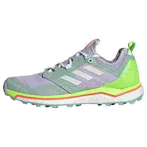 adidas TERREX Agravic XT Trailrunning-Schuh Trailrunning Schuhe Damen Purple Tint / Cloud White / Green Tint