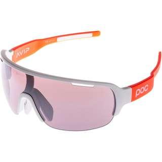 POC DO Half Blade AVIP Sportbrille hydrogen white/zink orange