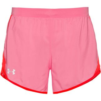 Under Armour Fly By 2.0 Laufshorts Damen lipstick