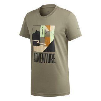 adidas TERREX Adventure T-Shirt T-Shirt Herren Grün