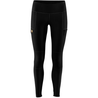 FJÄLLRÄVEN Abisko Trail Tights Damen black