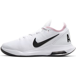 Nike Court Air Max Wildcard Tennisschuhe Damen white-black-pink foam