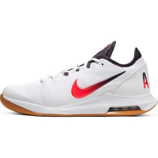 Nike Court Air Max Wildcard Tennisschuhe Herren white-laser crimson-gridiron-wheat