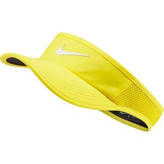 Nike Court AeroBill Visor Damen opti yellow-white