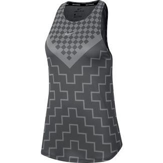 Nike Runway Funktionstank Damen iron grey-reflective silver