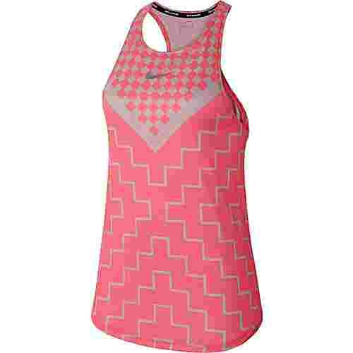 Nike Runway Funktionstank Damen digital pink-reflective silver