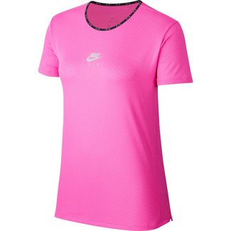 Nike Air Funktionsshirt Damen fire pink-reflective silver