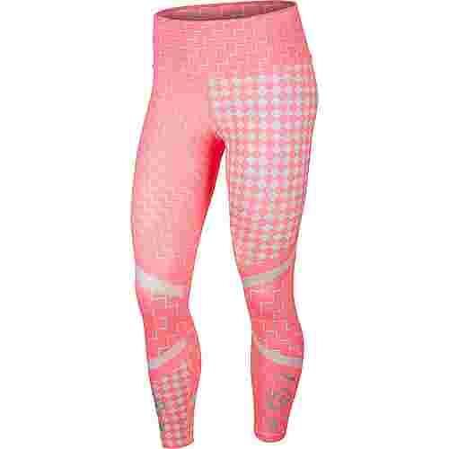 Nike Runway Lauftights Damen digital pink-reflective silver