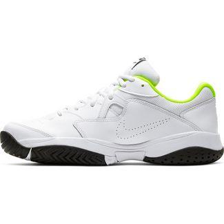 Nike Court Lite 2 Tennisschuhe Herren white-black-volt