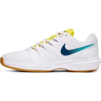 Nike Air Zoom Prestige Tennisschuhe Damen white-valerian blue-oracle aqua