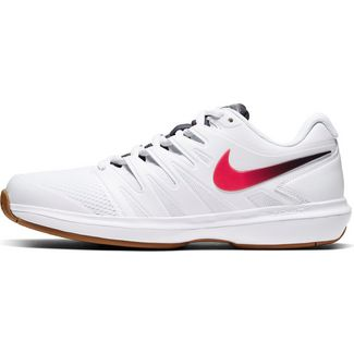 Nike Air Zoom Prestige Tennisschuhe Herren white-laser crimson-gridiron-wheat